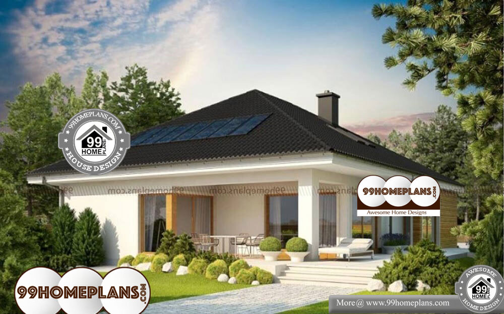 Indian Bungalow Designs - One Story 1831 sqft-Home