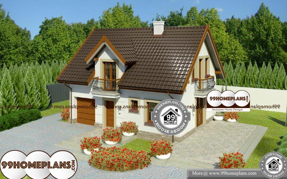 Traditional House Styles - Two Story 1354 sqft-Home