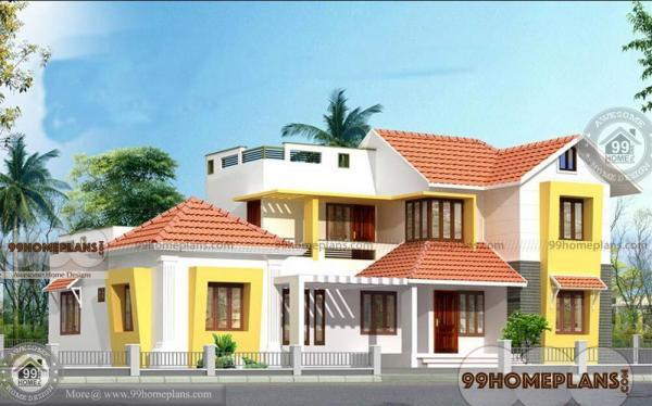 Contemporary House In Kerala – Home Plan Elevation – Modern Two Story