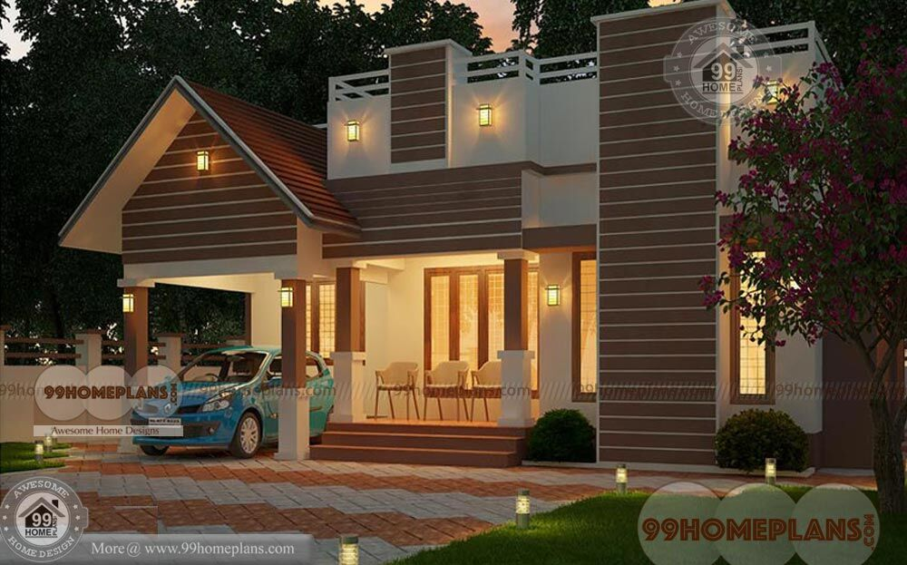N Traditional Home Elevation Design : One story traditional home plans best small house