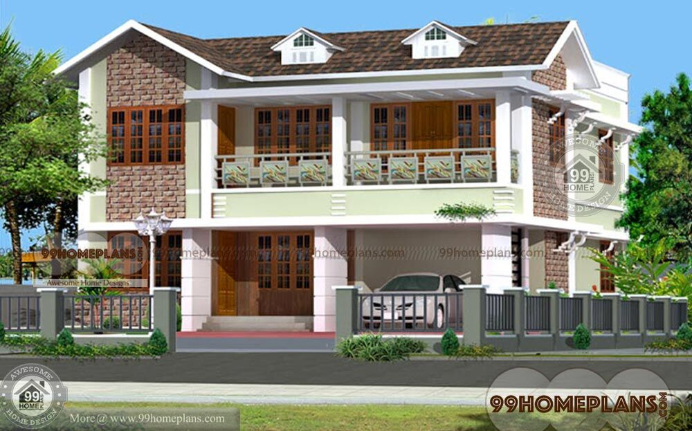Budget Of This House Is 47 Lakhs U2013 Simple Brick House Plans