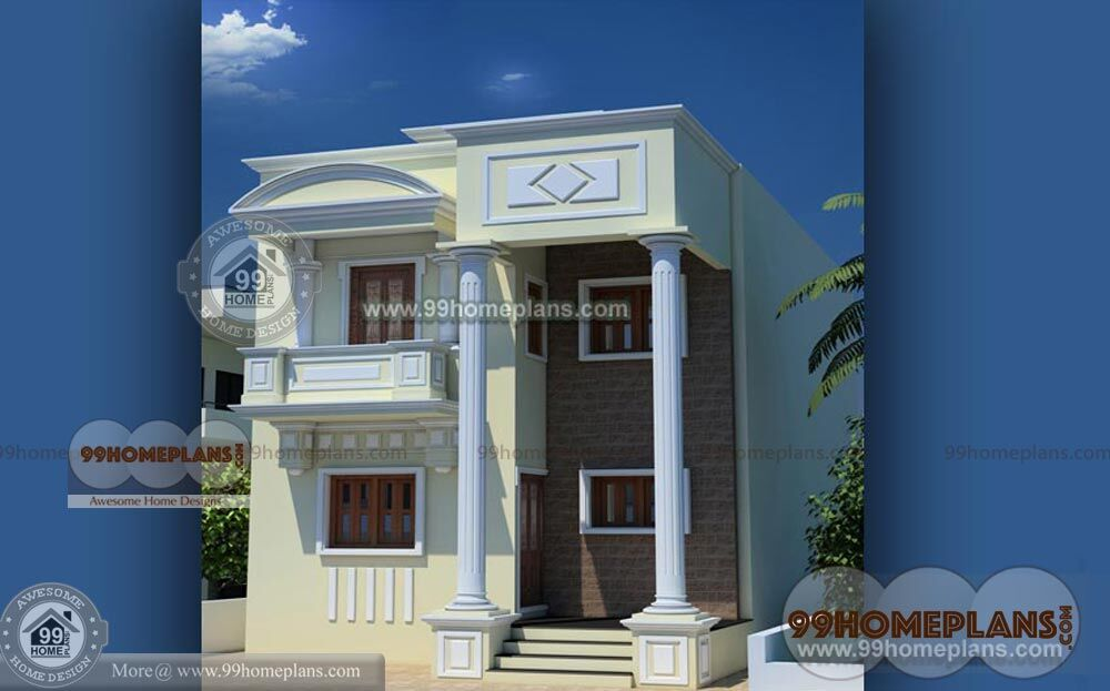 2 storey small house design