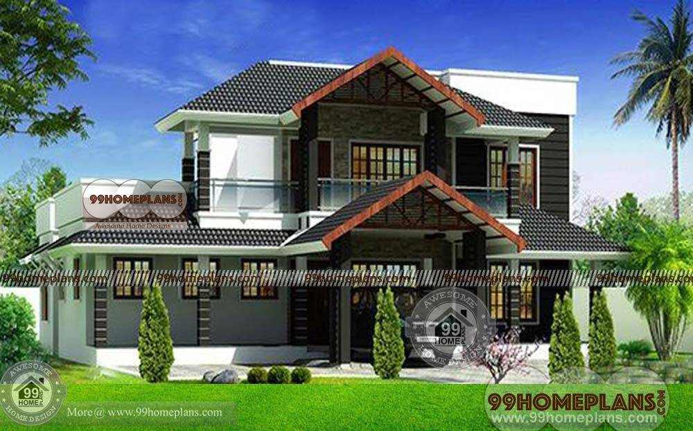 Two Story House Plans Indian Style