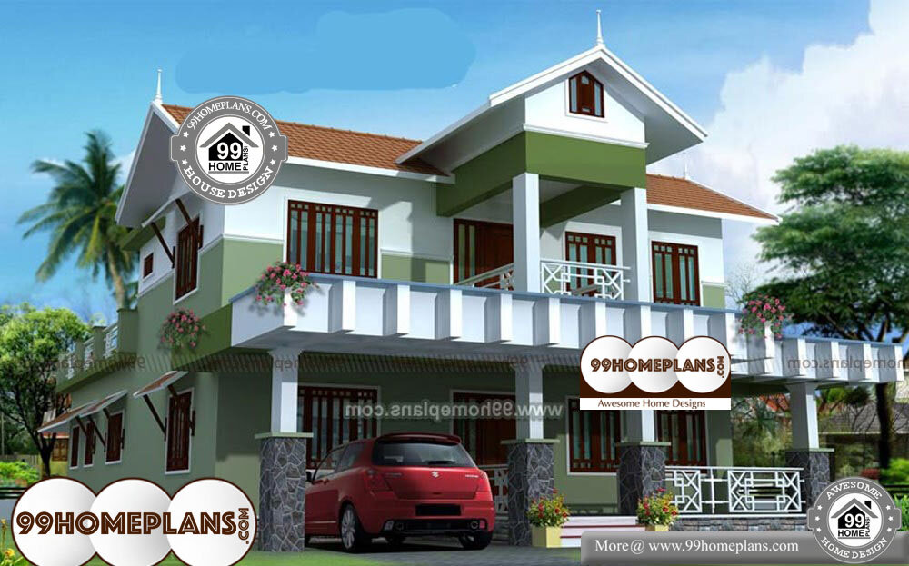 3 BHK House Plan Independent House - 2 Story 1800 sqft-Home