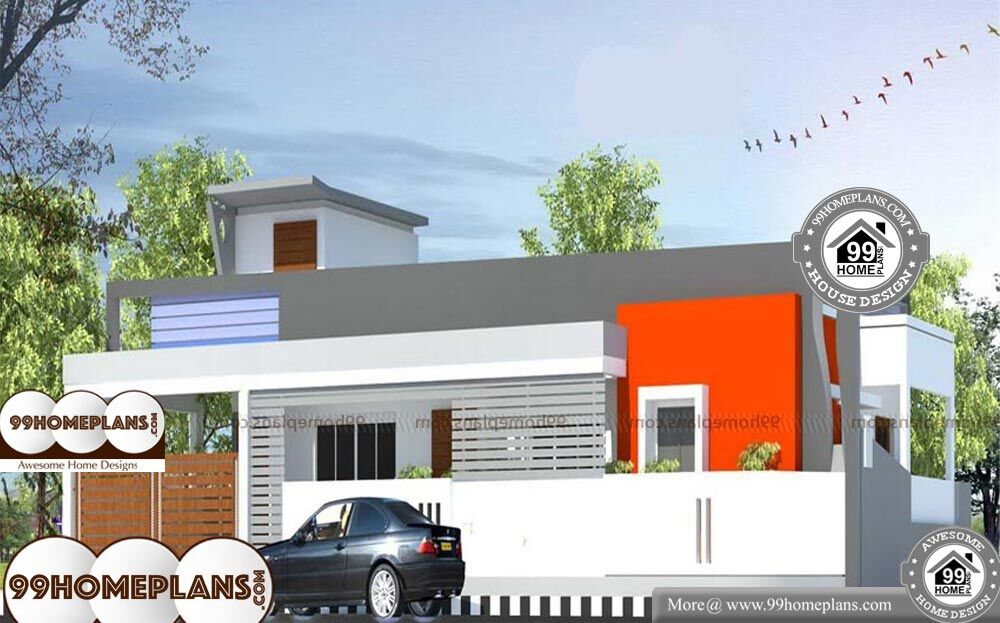 Box Type Houses Photos - 1 Story 1480 sqft-Home