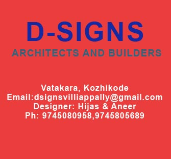 D-signs Architects and Builders Vatakara