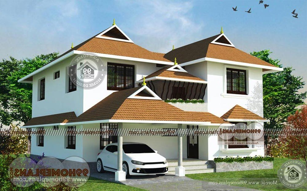 Indian House Design Plans Free - 2 Story 2217 sqft-Home