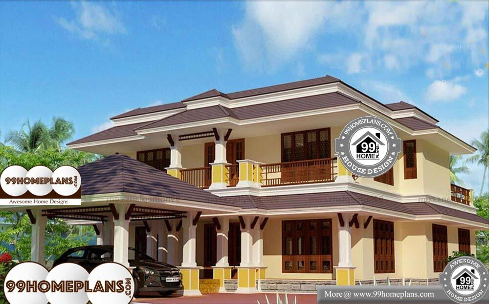 Kerala Traditional Homes Images - 2 Story 2600 sqft-Home