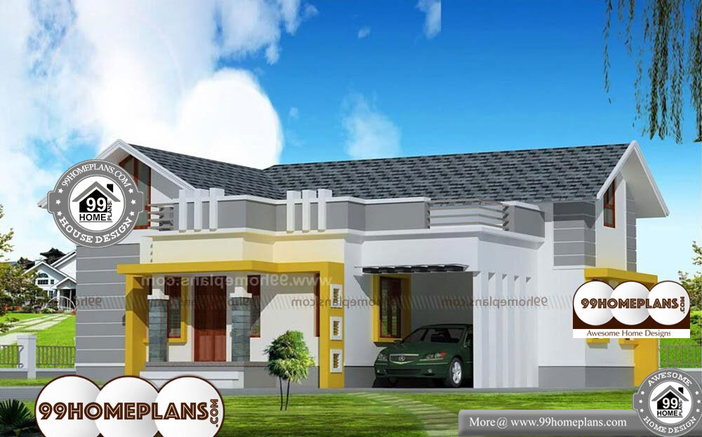 Kerala Veedu Plan - 1 Story 1200 sqft-Home