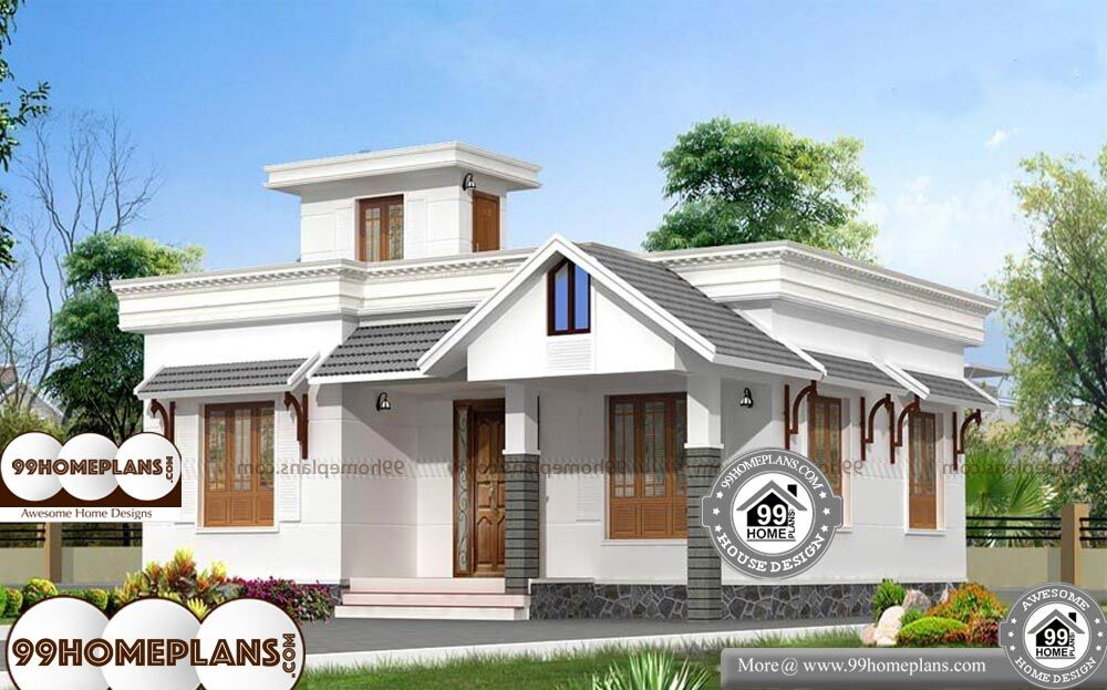 Low Budget House Models - 1 Story 1377 sq ft-Home