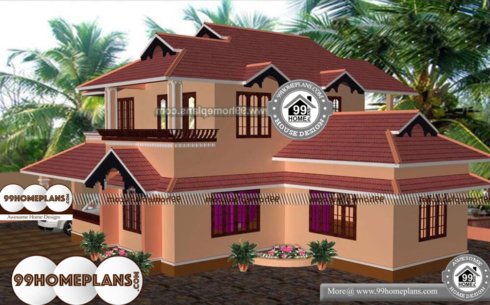 Old Style House Plans With Porches - 2 Story 2085 sqft-Home