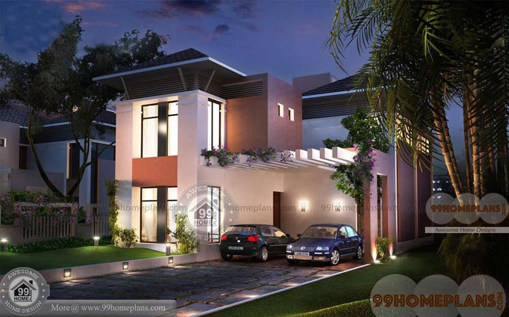 Box Type House Design Kerala Home Plan Elevation