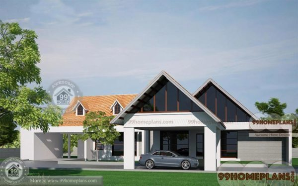 European style house plans home design elevation 1 for European house plans one story