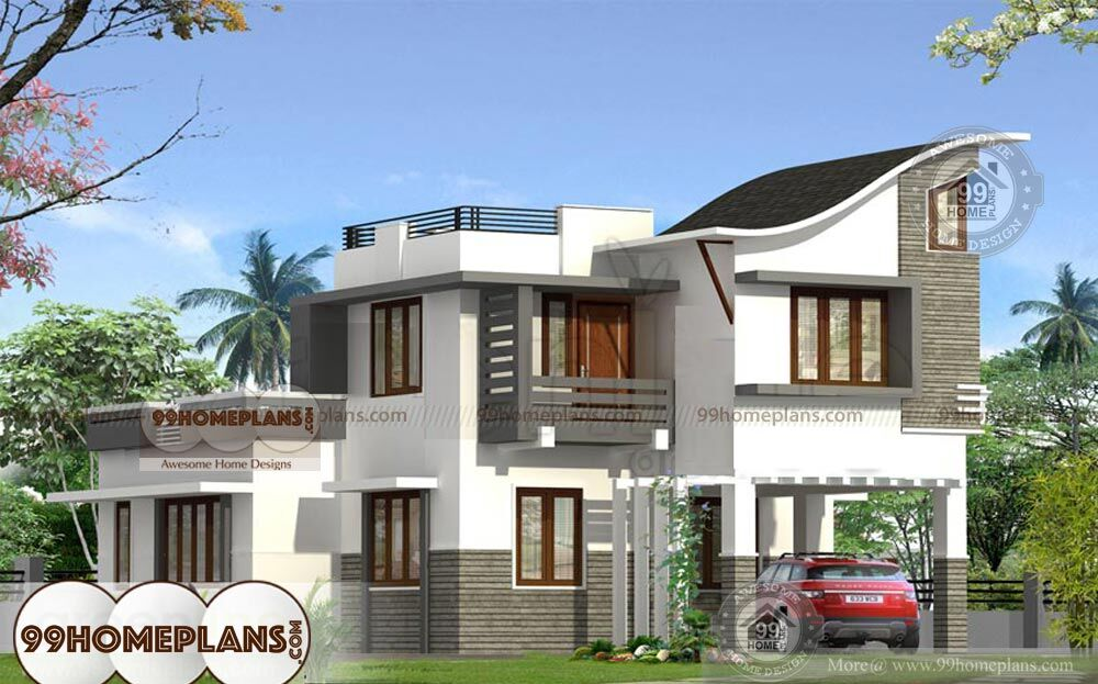 Front Elevation Of Bathtub : Home front elevation house plan designs modern box