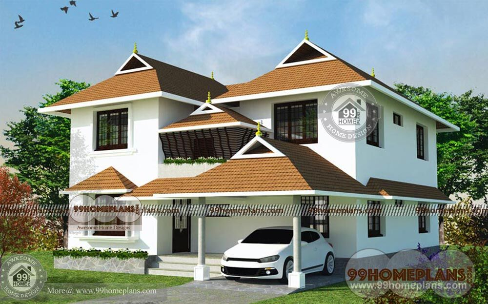 Indian house design plans free modern two story home for Free two story house plans
