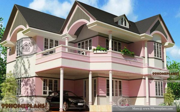 Kerala Homes Photo Gallery House Plan Elevation Double Story Design