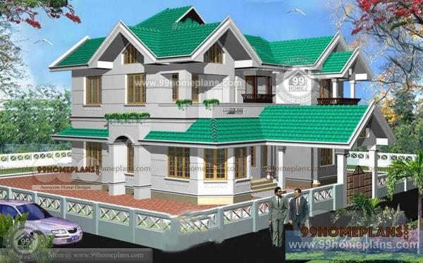 kerala house plans free download home style elevation double story