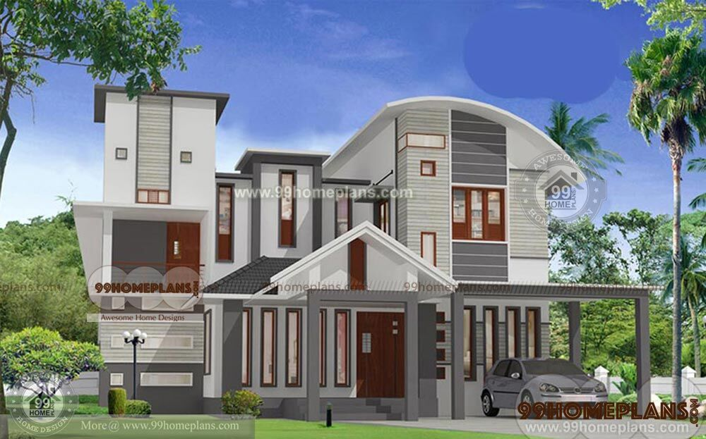 Kerala House Plans With Cost Home Plan Elevation Two