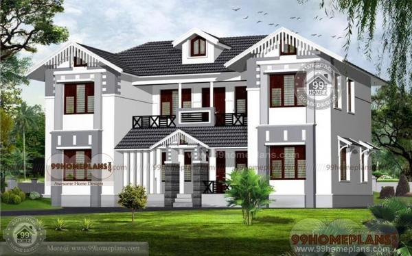 Kerala House Plans With Photos And Price U2013 New Double Story Home Idea Amazing Design
