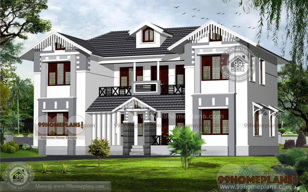 Kerala House Plans With Photos And Price - New Double ...