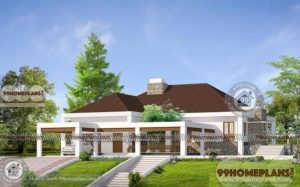 luxury one story house plans