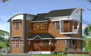 modern brick house designs home plan idea double story style type - Modern House Design Ideas