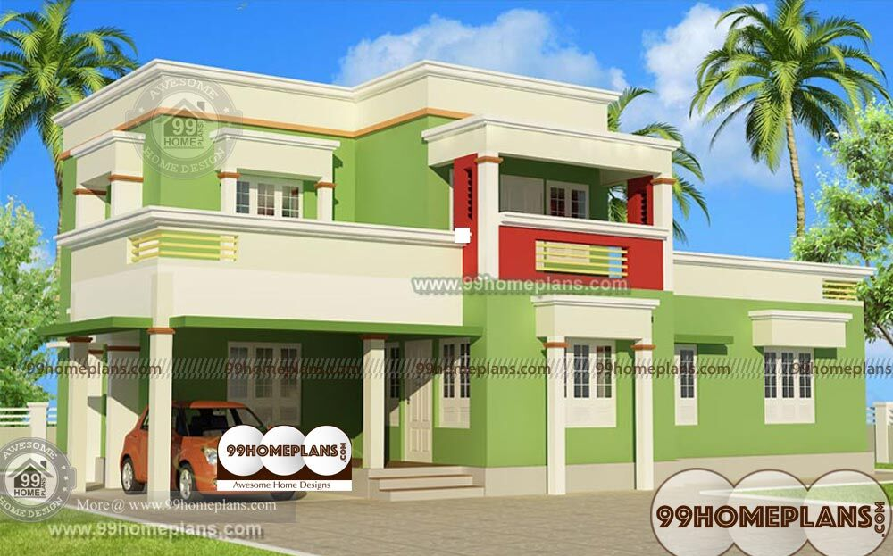 small box type house design
