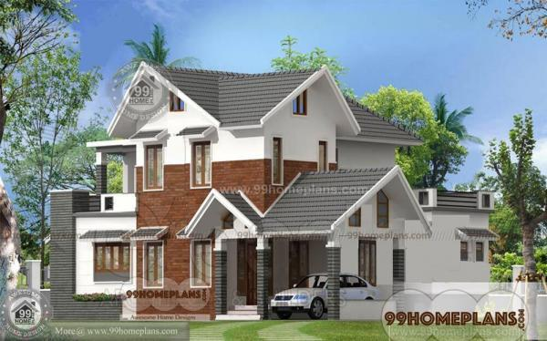 stone and brick house plans double story dream home designs source