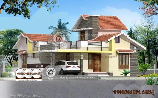 Stone Exterior House Plans Single Story Home Designs