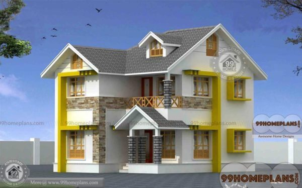 Traditional Kerala House Designs U2013 New Home Plans Elevation U2013 Two Floor