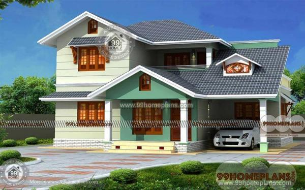 Traditional South Indian Houses Designs Best Double