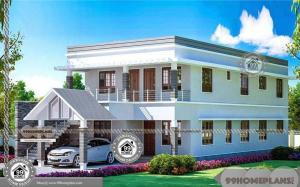 2 Storey Villa Designs Mind Blowing Popular Conventional Design Homes