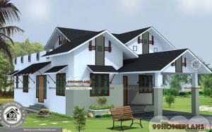 2 Story House Plans With Garage and Home 3D Elevation Idea Collections
