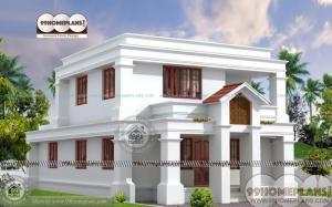 2 Story Residential House Plans Economical Fabulous Exterior and Interior