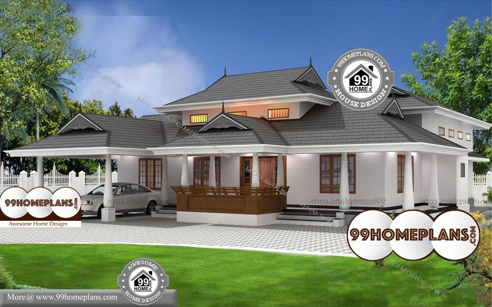 3 Bedroom House Plans And Designs - Single Story 2248 sqft-Home