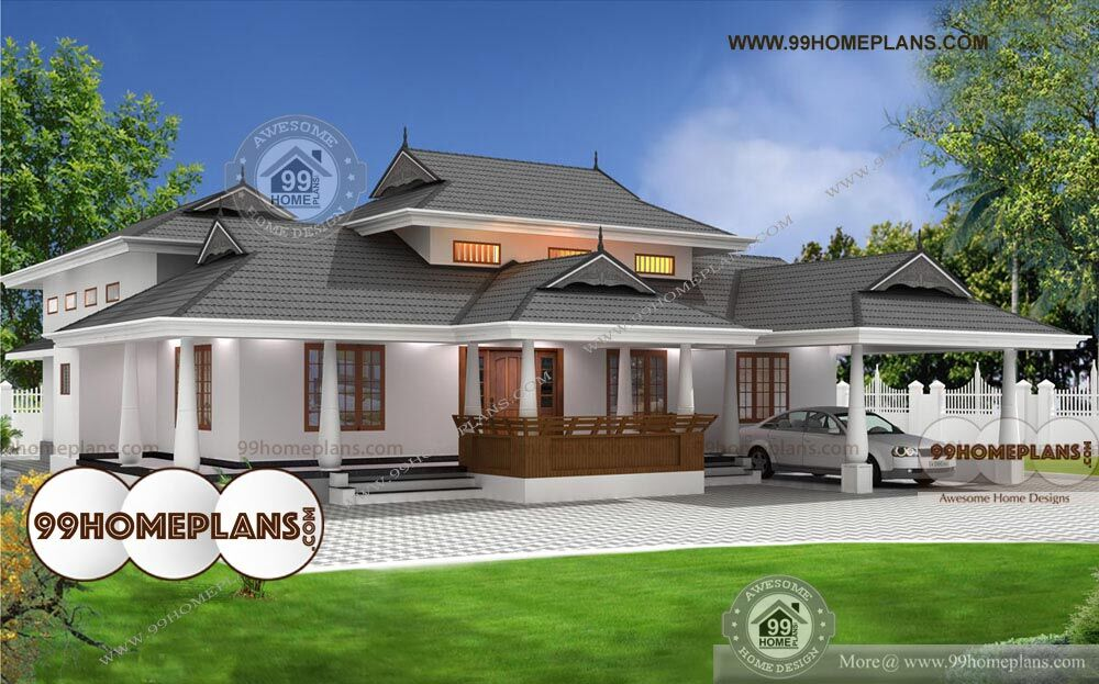 3 Bedroom Single Storey Budget House Part - 27: Budget Of This House Is 38 Lakhs U2013 3 Bedroom House Plans And Designs
