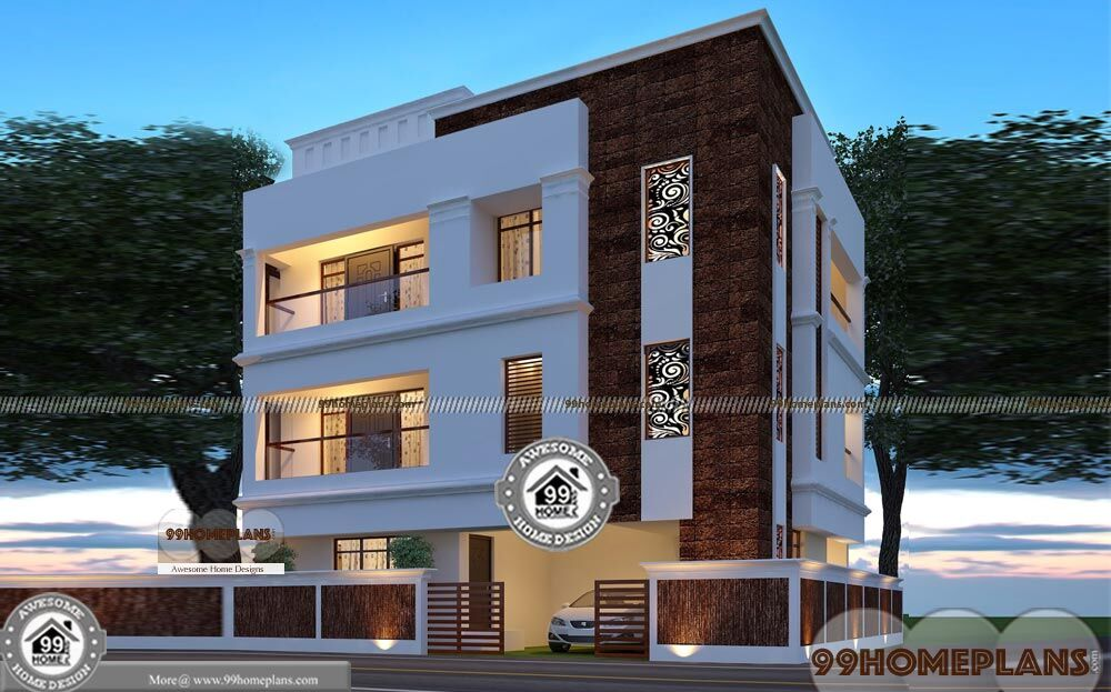3 Story Home Plans And Designs Apartment Style Modern