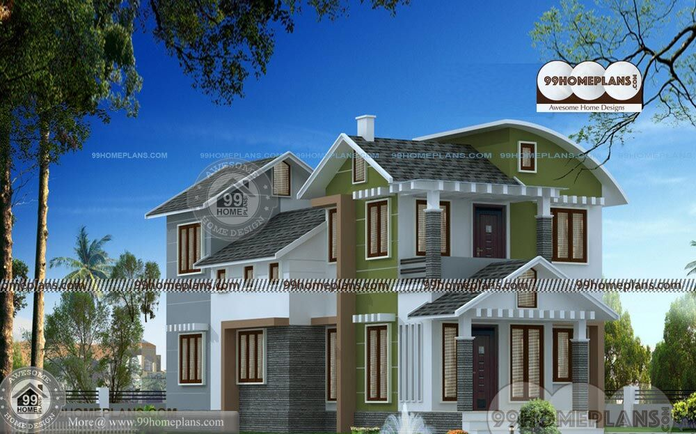 3d Home Design Indian Style New 2 Story House Plan Ideas Collections