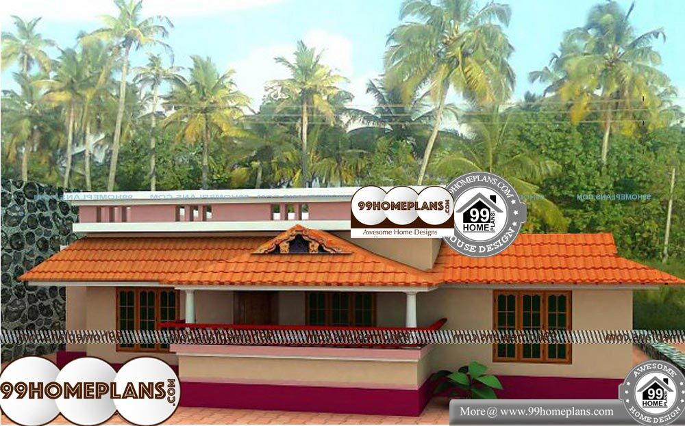 Best Indian House Designs - Single Story 1000 sqft-Home