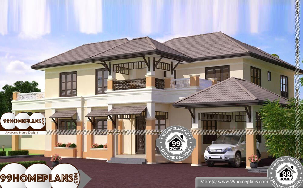 Best Website For House Plans - 2 Story 3600 sqft-Home