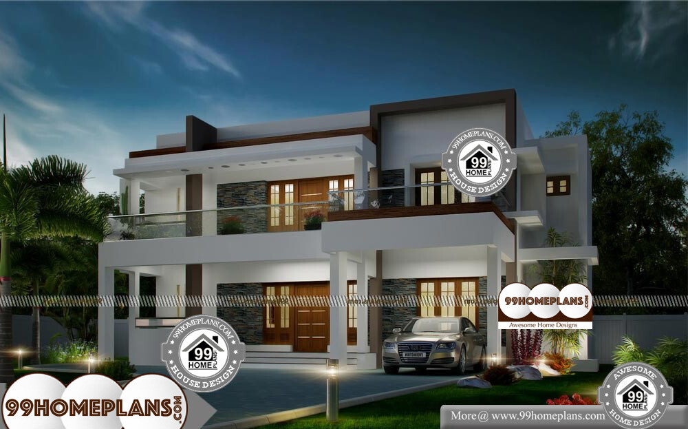 Cost effective home plans with contemporary luxurious home for Cost effective home plans