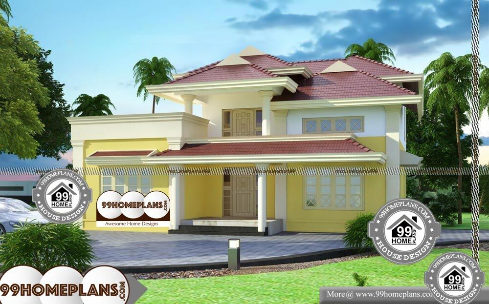 Different Types Of House Plans - 2 Story 2350 sqft-Home