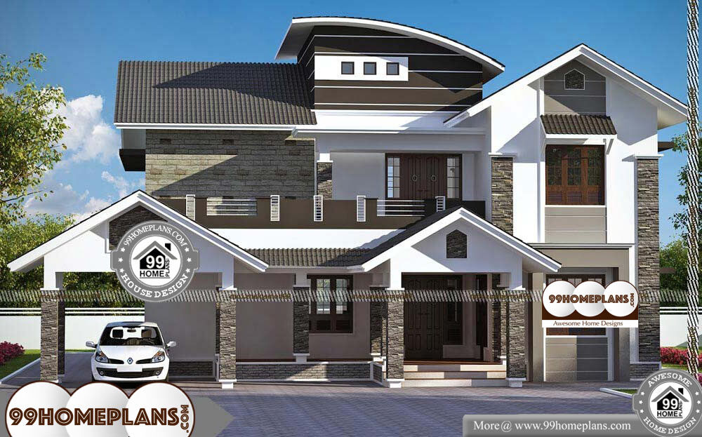 Double Storey Home Builders Perth With Indian Style House