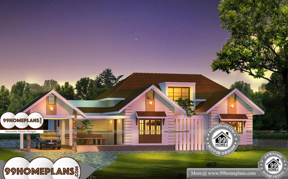 Floor Plans For Small Bungalows -Single Story 3100 sqft-Home