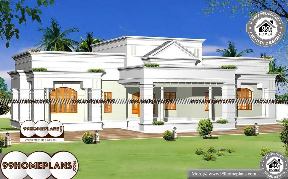 Home Front Elevation Models In Tamilnadu 1 Story New Single Story Plans