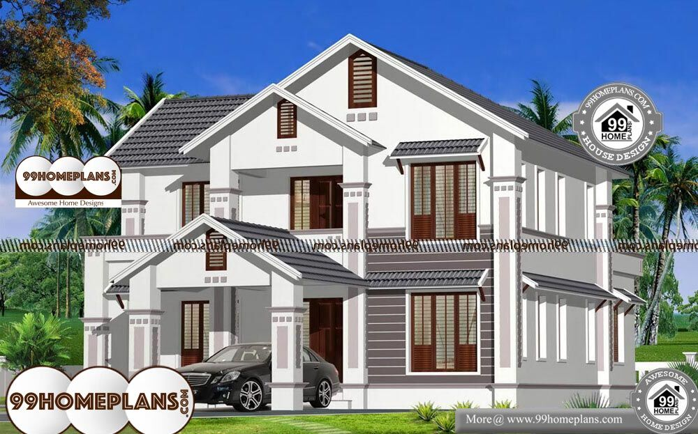 House Plan Websites - 2 Story 2400 sqft-Home