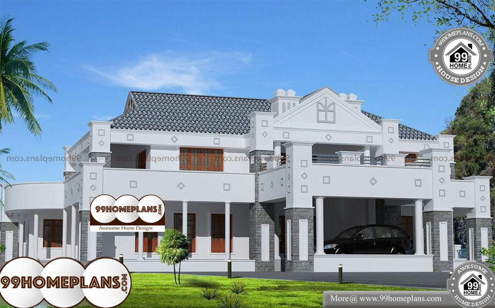 House Plans Architect - 2 Story 6513 sqft-Home