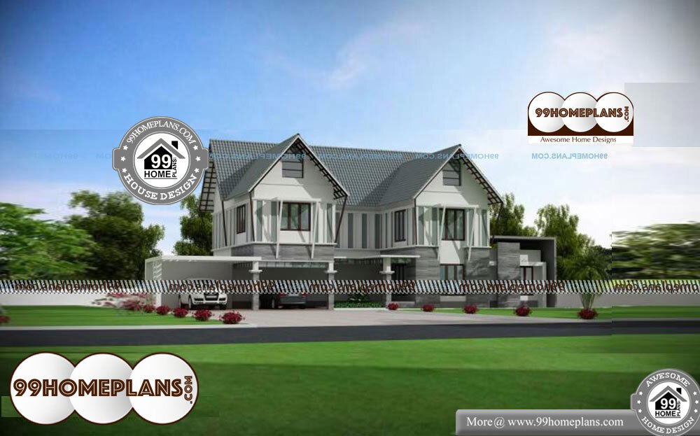 Indian Home Layout Plans - 2 Story 3136 sqft-Home