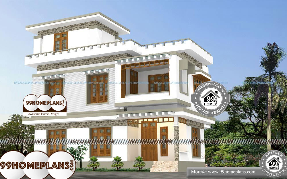 Top 200+ Indian House Designs and Floor Plans Free   100+ Home 2 Story