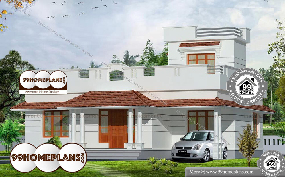 Japanese Home Design - Single Story 1200 sqft-Home